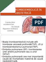 boala tromboembolica