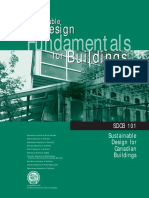 Sustainable Design Fundamentals for Buildings