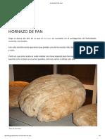 Hornazo de Pan