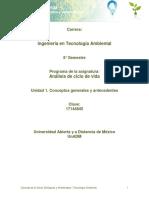 Unidad 1. Conceptos Generales y Antecedentess