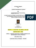 211327731 Hospital Management System