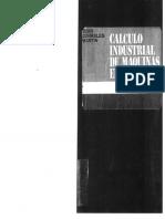Calculo Industrial de Mauinas Electricas Juan Corrales Martin (Tomo i)