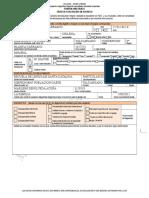 Formulario Único Para El Registro de La Evaluación Diagnóstica