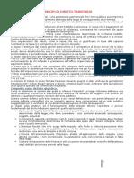 Diritto Tributario - Riassunto Del Manuale