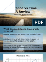 distance-time review