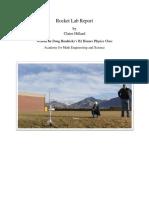 rocket lab report