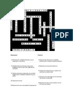 Actividad Cruzigrama Figuras Retóricas Soluciones.