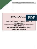 Protocolo de Servicio de Procesos Negociados