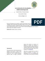 Sintesis de Complejo trisoxalatoferrato trihidratado trispotasio