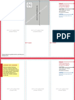 Brochure Layout Template Letterfold First 85x11