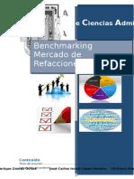 Benchmarking Mercado de Refacciones