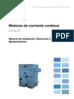 WEG Motores de Corriente Continua 10061219 Manual Espanol 1