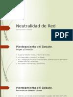 Neutralidad de Red