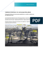 Optimized Thickeners in Coal Preparation Plants