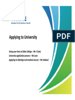 2014-03-12 Applying to University 2014