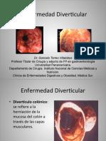 Gastro - Enfermedad Diverticular