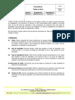 Procedimientos de Trabajo en Altura (P-24-7)