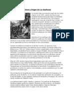 Historia y Origen de Los Garífunas