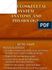 Musculoskeletal Anatomy and Physiology