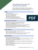 Mapping Medicare Disparities Tool FAQs