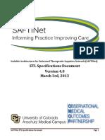 2013-03-03 ETL Specifications v4.0 SAFTINet