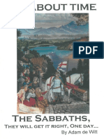 The Sabbaths Of YHVH