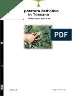 Botanica - Potatura Dell'Olivo in Toscana. Riflessioni Tecniche