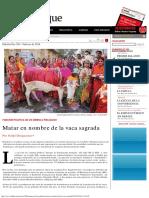 El Dipló _ Matar en nombre de la vaca sagrada.pdf