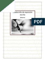 Cuadernillo de Expresion Escrita