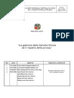 Cartella Clinica Rispetto Privacy 08.01.2009