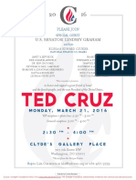 Reception for Ted Cruz