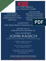 Reception for John Kasich