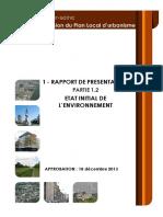 Vitry94 PLU 1.2 RP Etat Initial Environnement