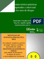 Herramientas Teórico-prácticas Para Comprender e Intervenir Sobre Los Usos de Drogas