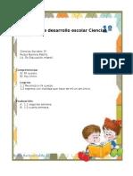 Plan de Desarrollo Escolar Ciencias Sociales Primer Corte