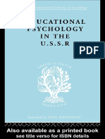 SIMON - Educational Psychology in the USSR