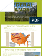 Federal Lands Official