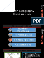 GEO L9 Physiography India Part 1