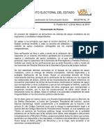 Denuncian a independientes por fraude en Puebla