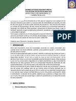 Informe Actividad SegundoRECOLECCIÓN ÚTILES ESCOLARES 2016 GRUPO DIRECCIÓN EMPRESARIAL L2 II SEMESTRE DE 2015