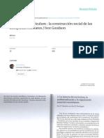 La Historia Del Curriculum-estudio Del Curriculum- I Goodson and I Dowbiggin