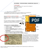 1 - Pintura en Nueva España - Pintura Mural Conventual Siglo Xvi (Teorico Practico)