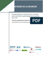 Informe Final Consulta VIH