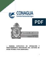 5 Manual Especifico de Operacion y Mantenimineto Preventivo Del Sistema de Agua Potable