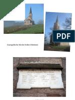 Astronomische Ausrichtung Von Zwei Kirchen im Schwarzwald