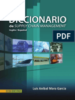 Diccionario de Supply Chain Management