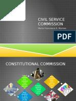 Civil Service Commission PPT
