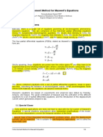 Finite Element Method for Maxwell's Equations