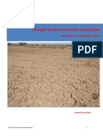 Drought Needs Assessment Somaliland