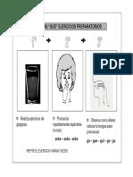 Ejercicios Preparatorios Fonema g